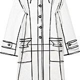 Miu Miu PVC Trench Coat