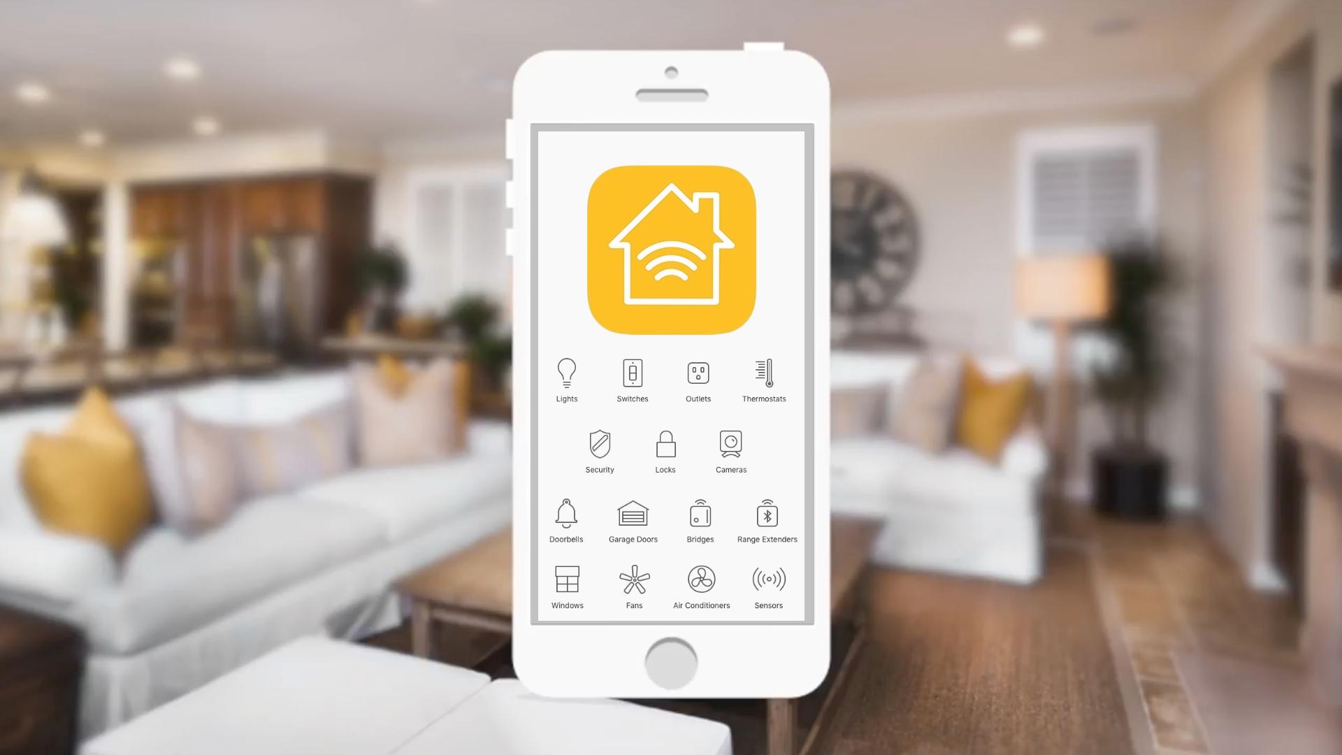HomeKit device icons