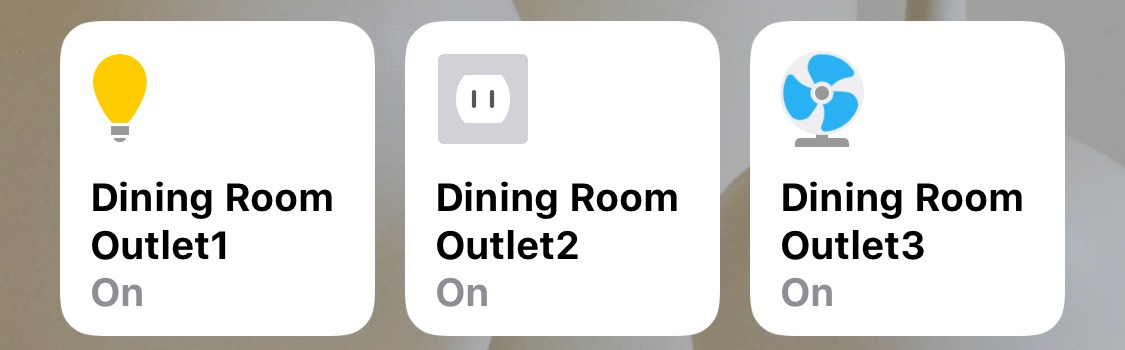 CHange HomeKit icons