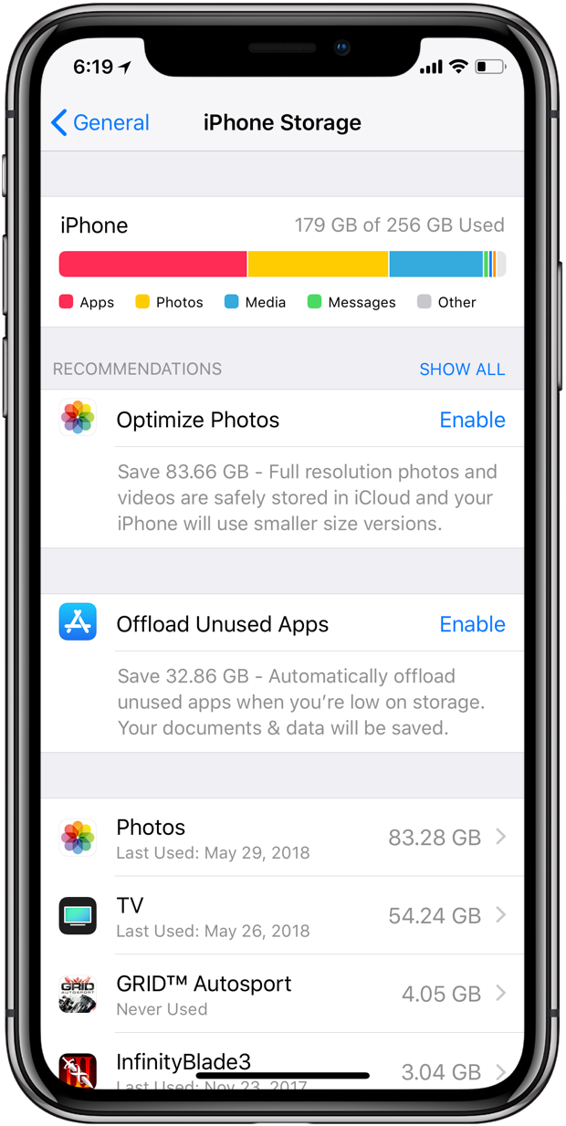 how to cancel icloud storage on iphone