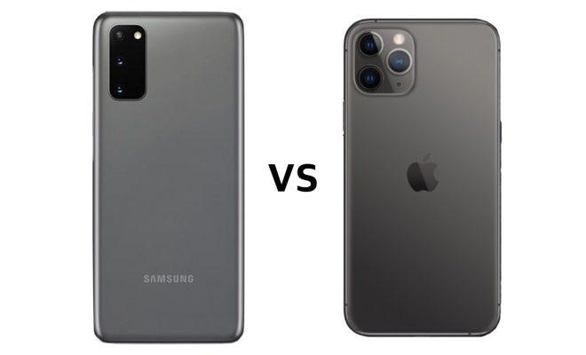 iPhone 11 Pro VS S20 Ultra