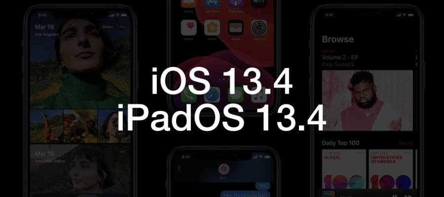 iOS 13.4 GM Seed